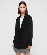 AllSaints Remmy Cowl Neck Sweater