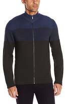 Van Heusen Men's Stripe V-Neck Sweater