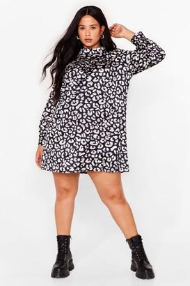 Nasty Gal Womens Hey Meow You Doing Satin Mini Dress - Grey