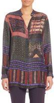 Etro Lurex Silk Tunic