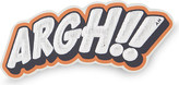 Anya Hindmarch Argh!! leather sticker