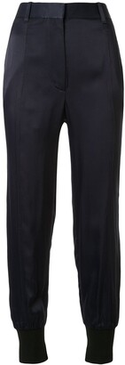 3.1 Phillip Lim Satin Tapered Trousers