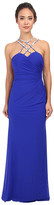 Faviana Mesh Sweetheart w/ Beaded Strap Dress 7594