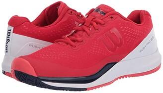 Wilson Rush Pro 3.0 (Lollipop/White/Peacoat) Women's Tennis Shoes