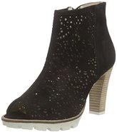 Marc Shoes Women's Shakira Cold lined classic boots short length Black Size: 8
