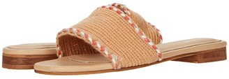 Kaanas Jamaica Handwoven Sandals with Braid (Camel) Women's Shoes