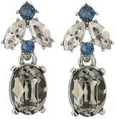 Oscar de la Renta Floral Navette Small Drop P Earrings Earring