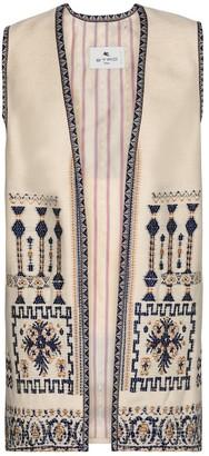 Etro Wool-blend vest
