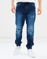 G Star 5620 3D Sport Tapered Cuffed Jeans