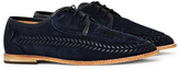 Hudson Anfa Suede Shoe Navy