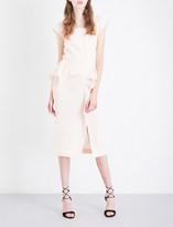 Roland Mouret Sawleigh wool-crepe dress