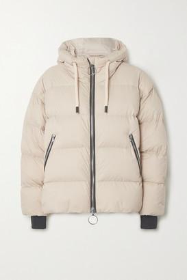 Ienki Ienki Dunno Hooded Quilted Down Ski Jacket - Beige