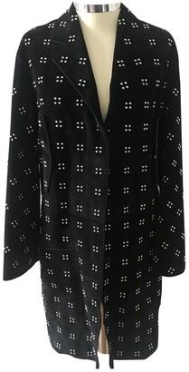 Hermes Black Suede Coat for Women