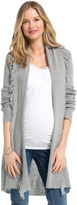 Motherhood Jessica Simpson Cascade Maternity Cardigan