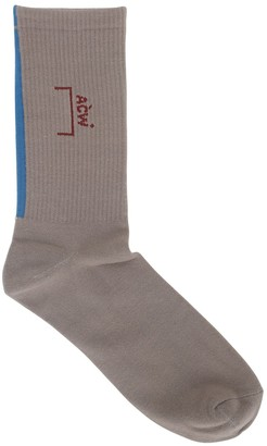 A-Cold-Wall* Cotton Logo Socks