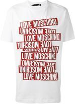 Love Moschino 'St. Tape' T-shirt