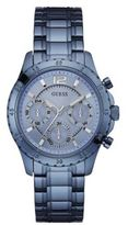GUESS Sky Blue Ionic-Plated Bracelet Watch