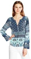 Roxy Women's Havana Printed Bohemian Long Sleeve Top