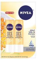 Nivea Milk & Honey Soothing Lip Balm - 0.17oz