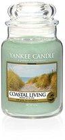 Yankee Candle Coastal living Large Jar Candle, Green