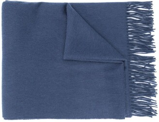 Mulberry Lambs Wool Scarf