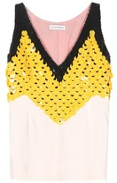 Altuzarra Miranda Embellished Silk Top