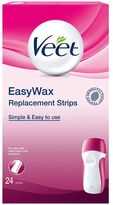 Veet EasyWax Replacement Strips 24 Strips