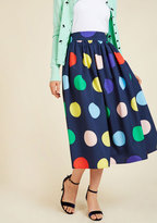 ModCloth Friends Over Pho Midi Skirt in XL