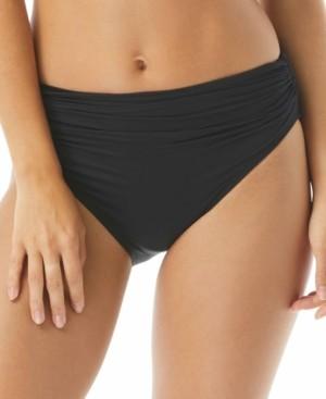 Carmen Marc Valvo Classic Shirred Bikini Briefs Women's Swimsuit