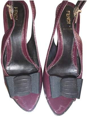 Fendi Purple Patent leather Heels