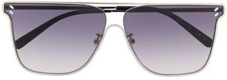 Stella Mccartney Eyewear Flat Top Tinted Sunglasses
