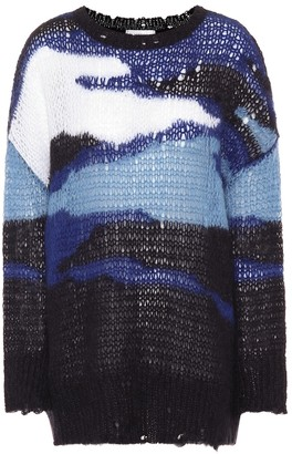 Valentino Mohair and wool-blend sweater