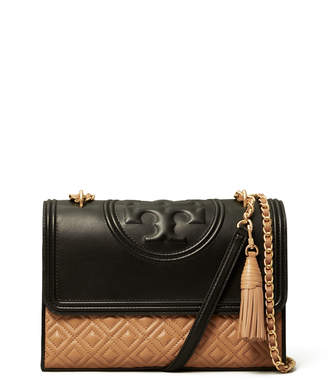 Tory Burch Fleming Convertible Colorblock Shoulder Bag