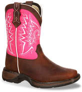 Durango Let Love Fly Western Infant, Toddler & Youth Cowboy Boot - Girl's