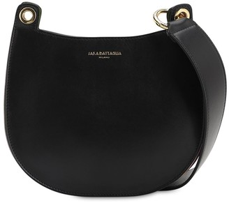 Sara Battaglia Rachel Toy Leather Hobo Bag