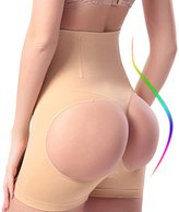 NINGMI Women's Hi-Waist butt lifter Shapewear Tummy Control Panties