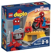 Lego DUPLO® Super Heroes Spider-Man Web-Bike Workshop 10607