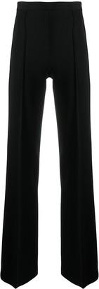 Elisabetta Franchi High-Waisted Wide Leg Trousers