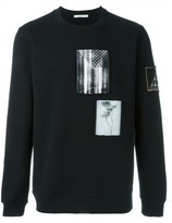Givenchy contrast patch sweatshirt
