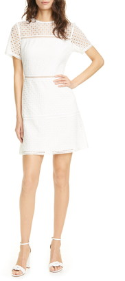 Ted Baker Allara Short Sleeve Lace Mini Dress