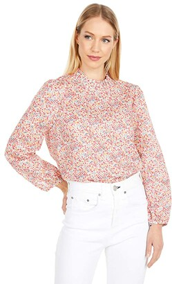 J.Crew Long Sleeve Top in Liberty(r) Phoebe Floral (Blossom Multi) Women's Clothing