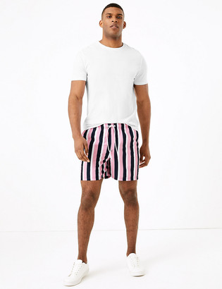 Marks and Spencer Quick Dry Vertical Striped Swim Shorts