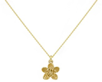 Lee Renee Cherry Blossom Necklace Gold