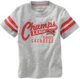 """LaCrosse Carter's """"champs league tee - baby"""