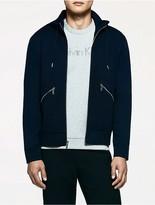 Calvin Klein Platinum Jersey Hooded Jacket