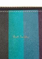 Paul Smith Women's 'Artist Stripe' Calf Leather Pochette