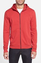 HUGO Men's Cotton Jersey Full Zip Hoodie