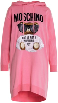 Moschino Teddy Hoodie Dress