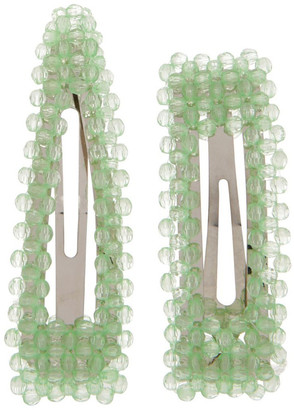 Miss Shop 2 Pack H-Bead Snap Clip