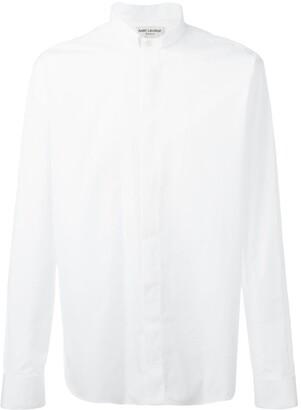 Saint Laurent Tucked Collar Shirt